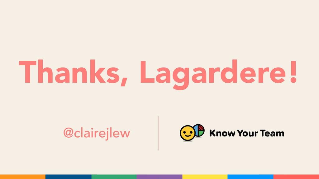 Thanks, Lagardere! @clairejlew