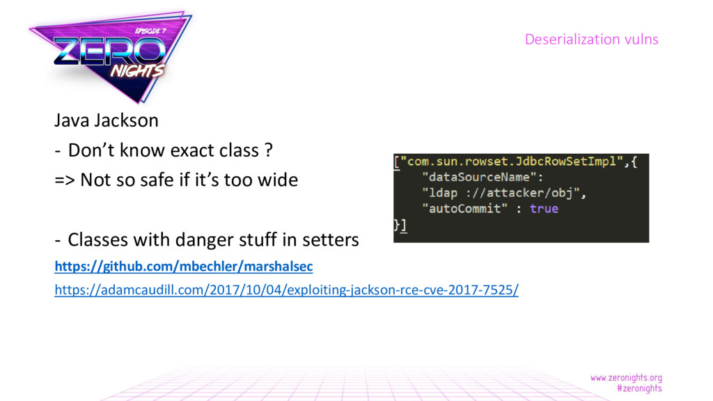 Java Jackson - Don't know exact class ? => Not ...