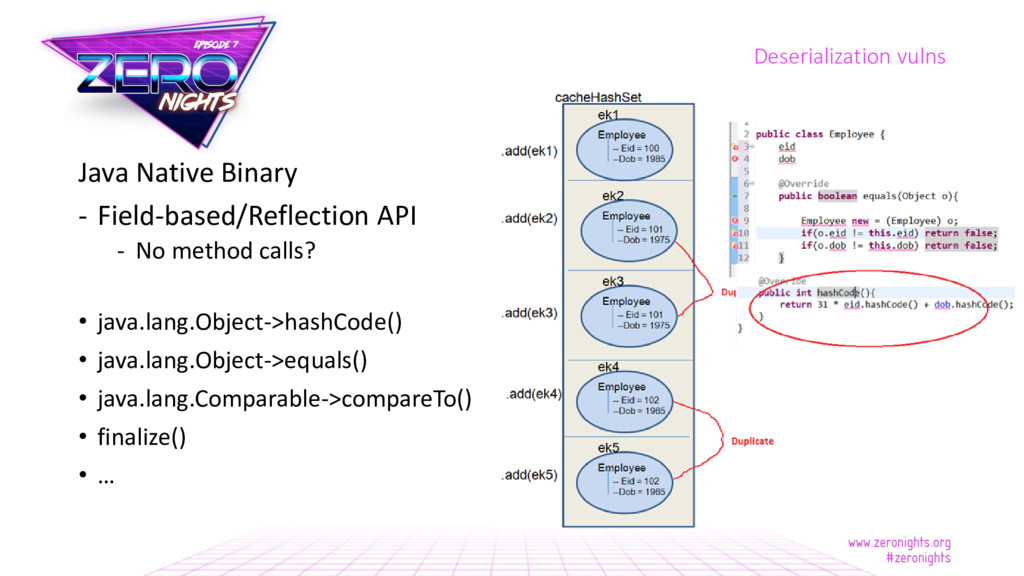 Java Native Binary - Field-based/Reflection API...