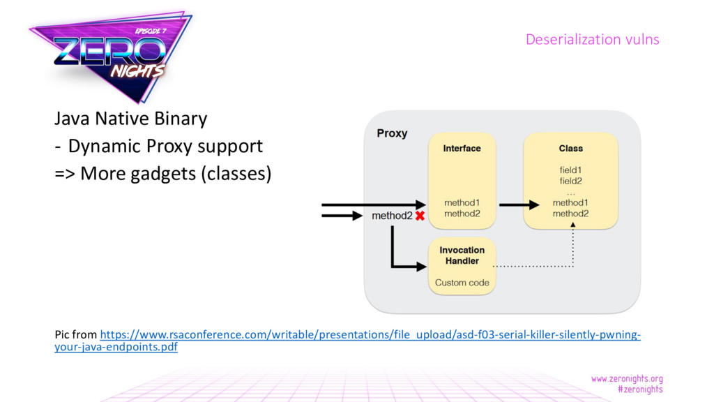 Java Native Binary - Dynamic Proxy support => M...