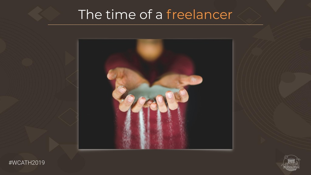#WCATH2019 The time of a freelancer