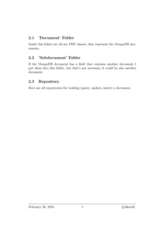 2.1 'Document' Folder Inside this folder are al...