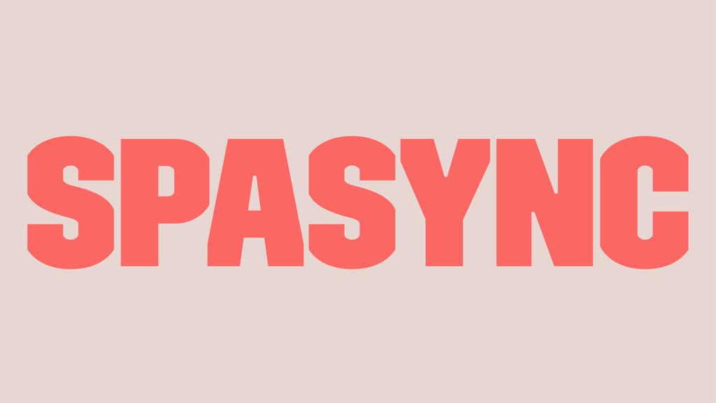 SPAsync