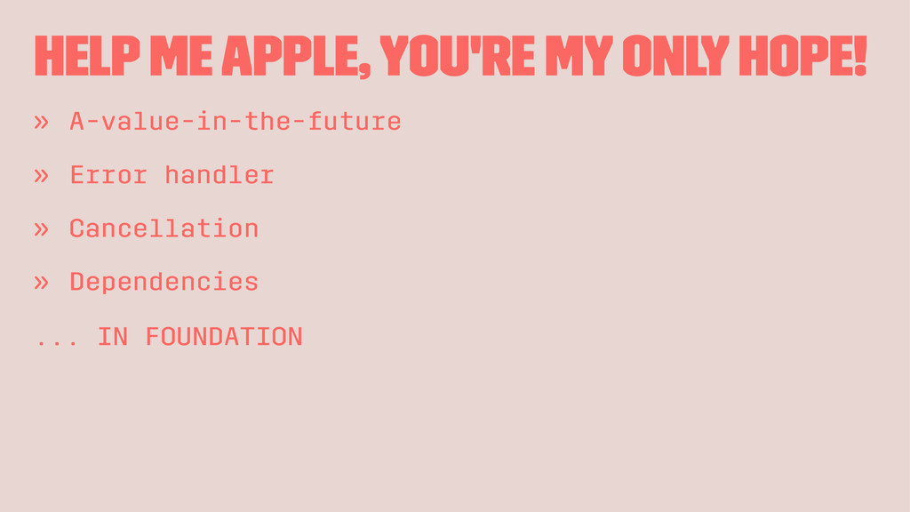 Help me Apple, you're my only hope! » A-value-i...