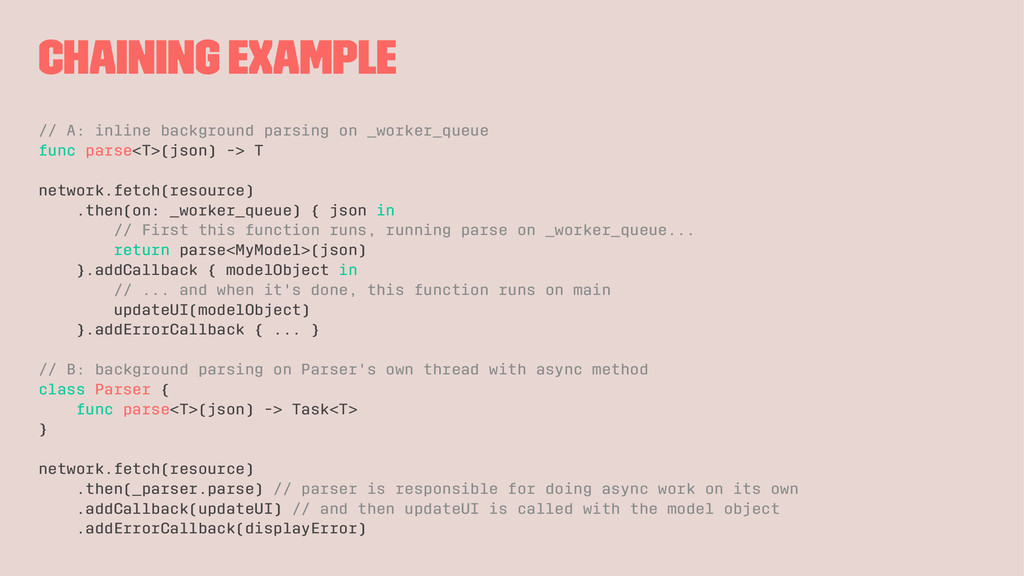 Chaining example // A: inline background parsin...