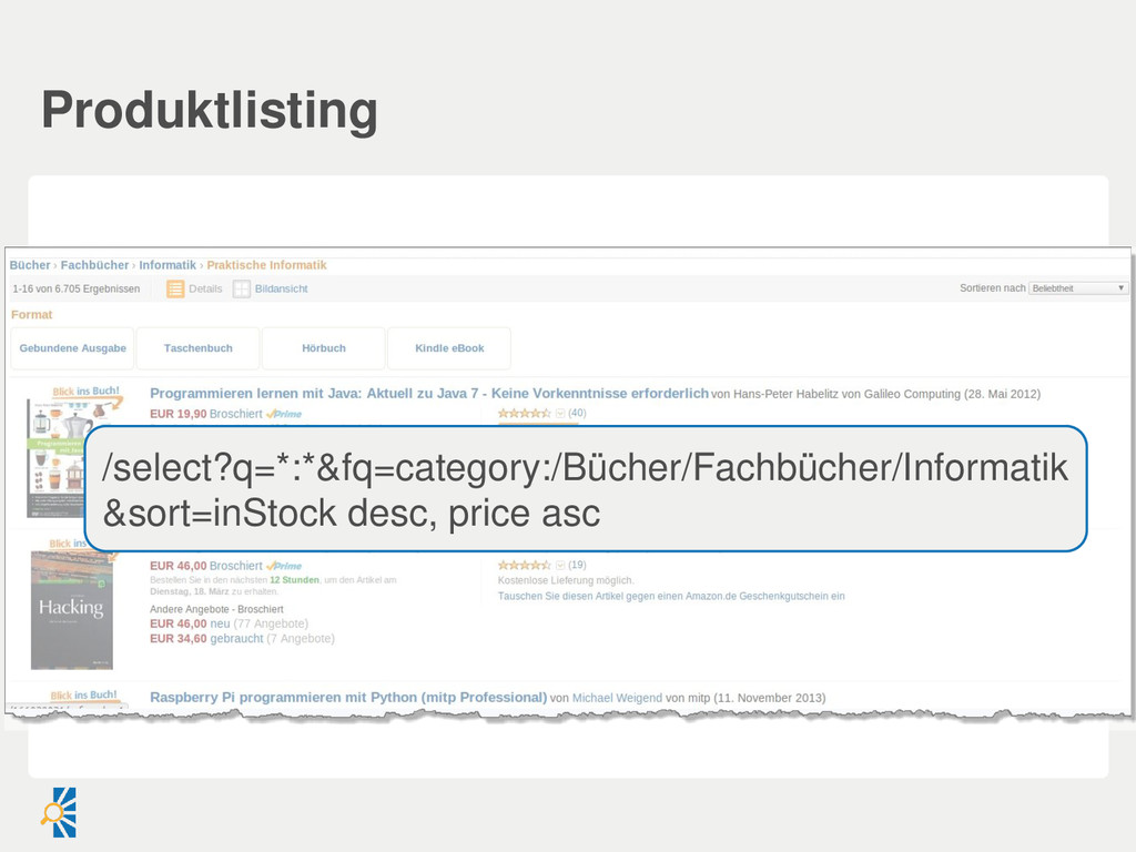Produktlisting /select?q=*:*&fq=category:/Büche...