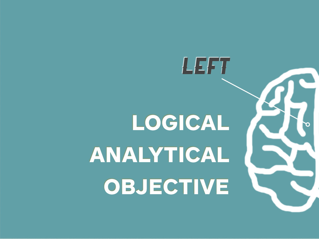 LEFT LOGICAL ANALYTICAL OBJECTIVE