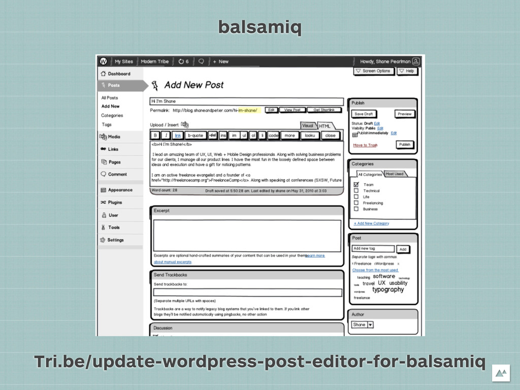Tri.be/update-wordpress-post-editor-for-balsami...