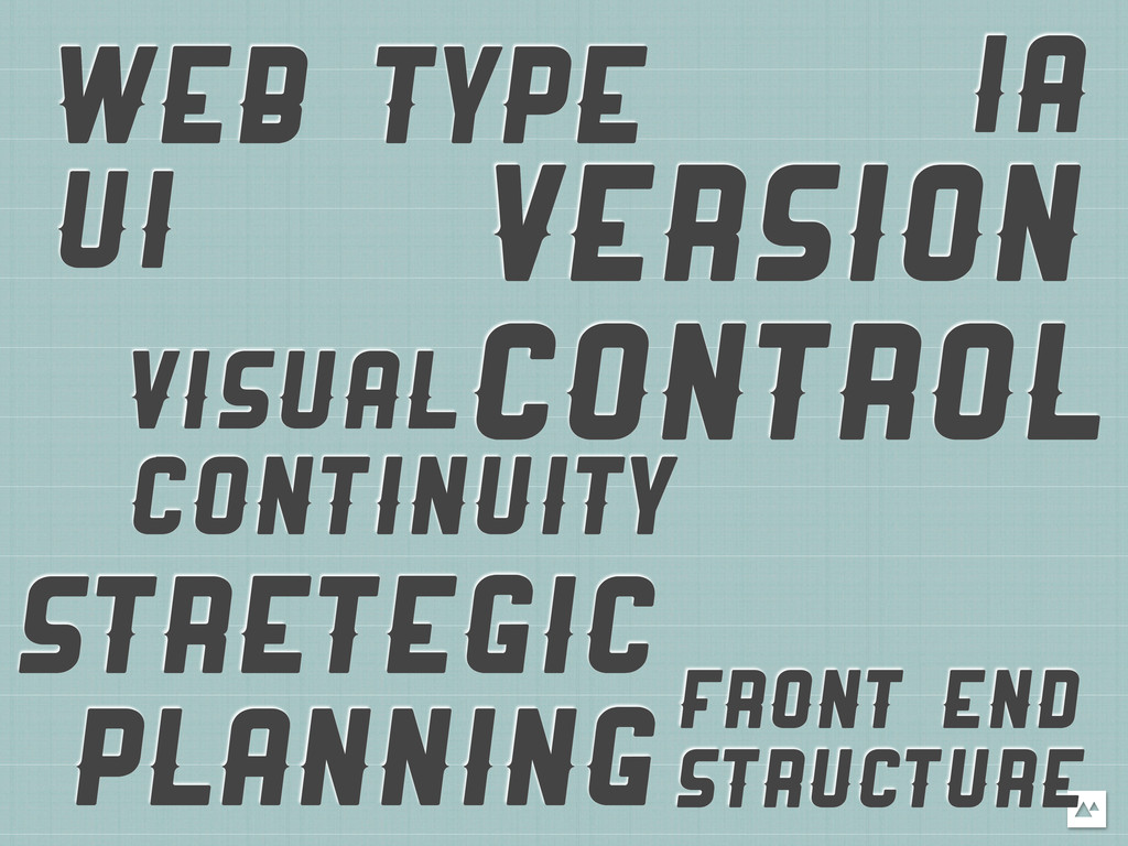 WEB TYPE VISUAL CONTINUITY IA UI VERSION CONTRO...