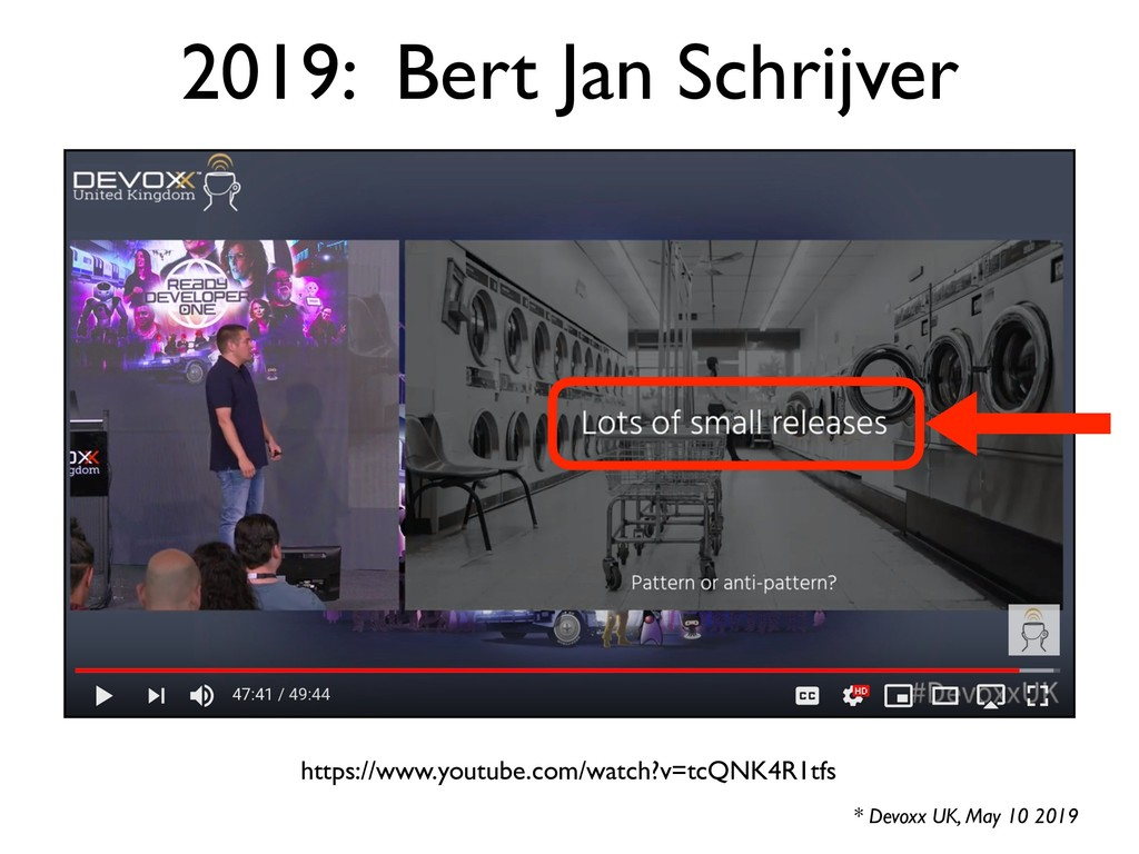 2019: Bert Jan Schrijver * Devoxx UK, May 10 20...