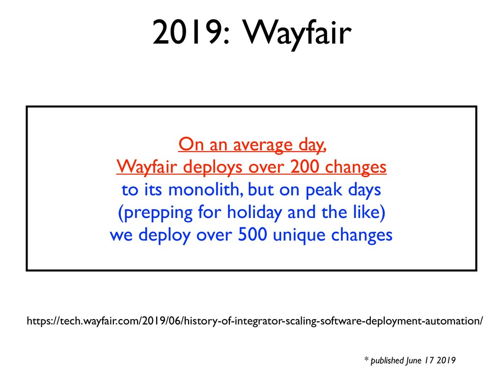 2019: Wayfair * published June 17 2019 https://...
