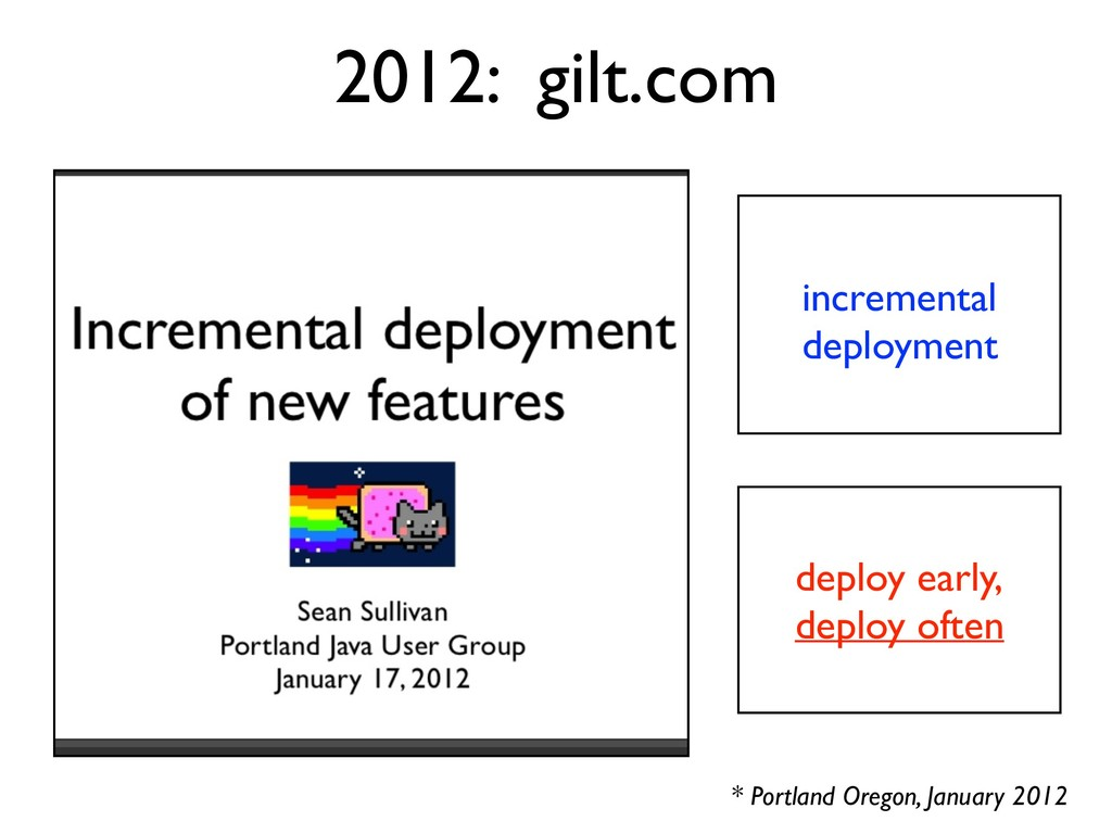 incremental deployment 2012: gilt.com deploy ea...
