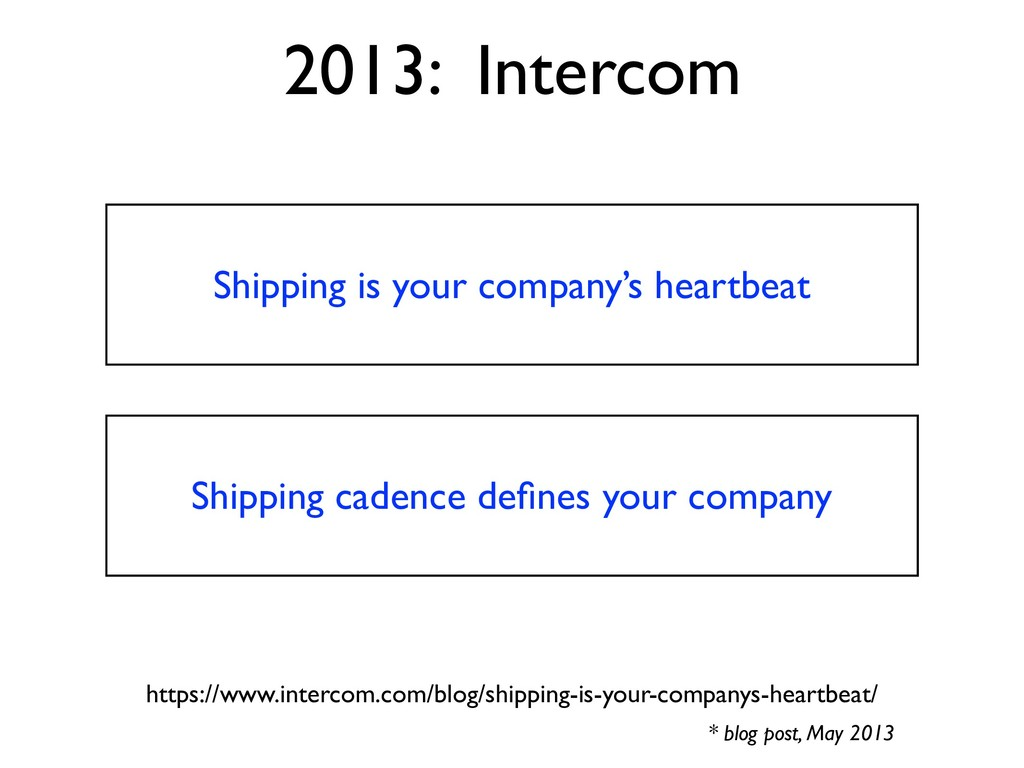 Shipping is your company's heartbeat 2013: Inte...