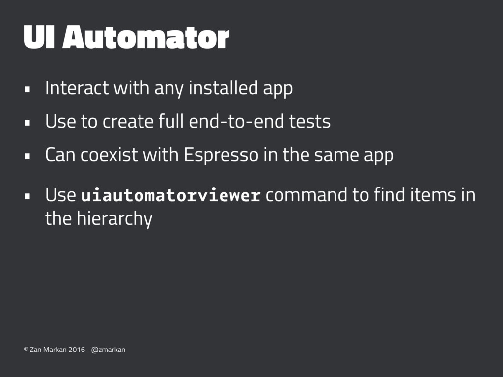 UI Automator • Interact with any installed app ...