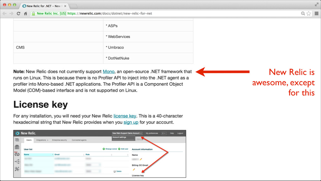 New Relic is awesome, except for this