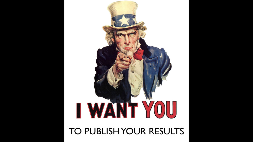 TO PUBLISH YOUR RESULTS