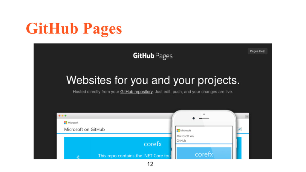 GitHub Pages 12