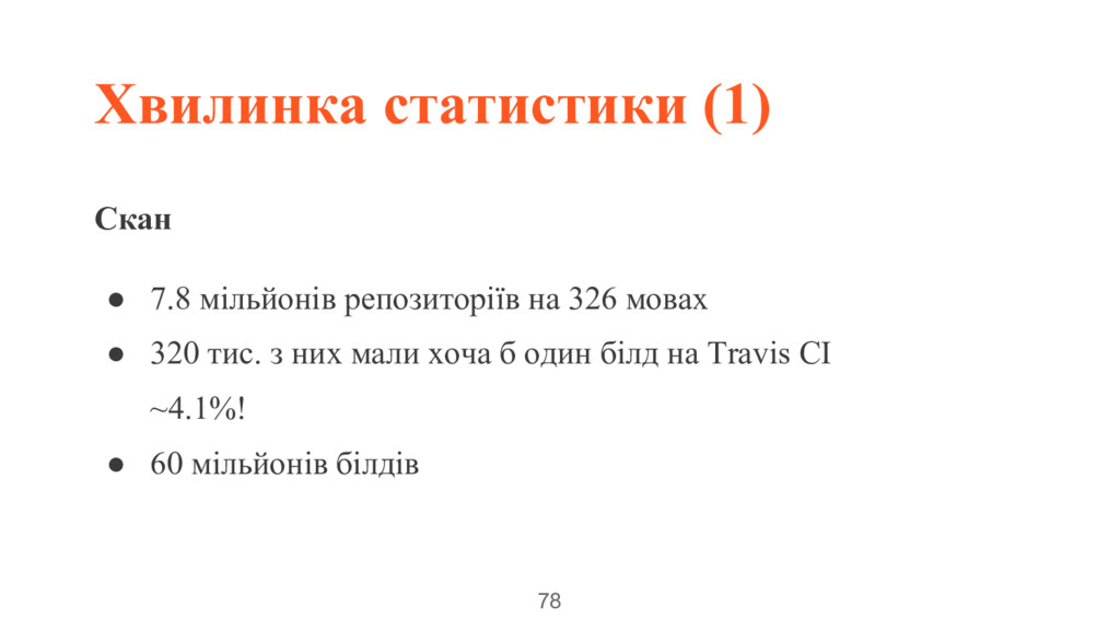 Хвилинка статистики (1) 78 Скан ● 7.8 мільйонів...