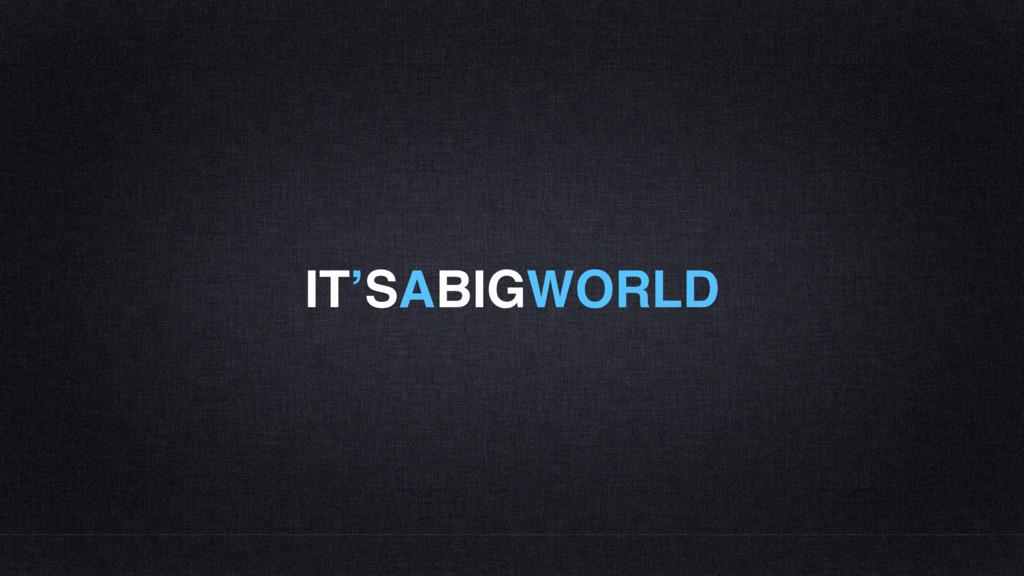 IT'SABIGWORLD