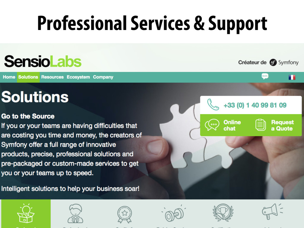 Professional Services & Support