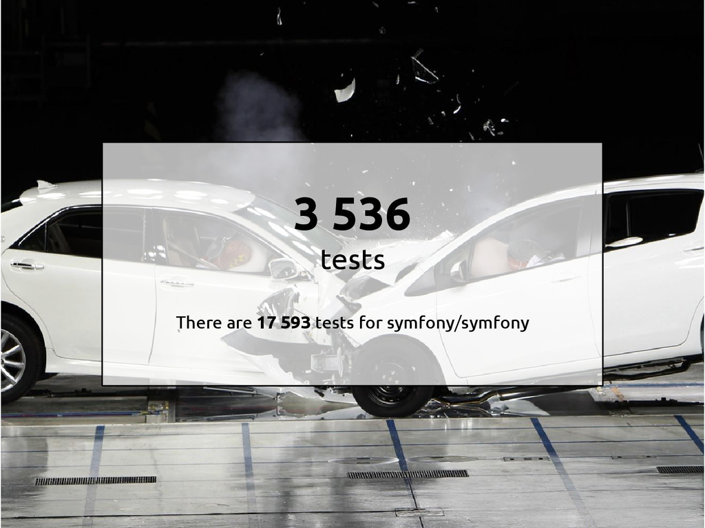 3 536 tests There are 17 593 tests for symfony/...