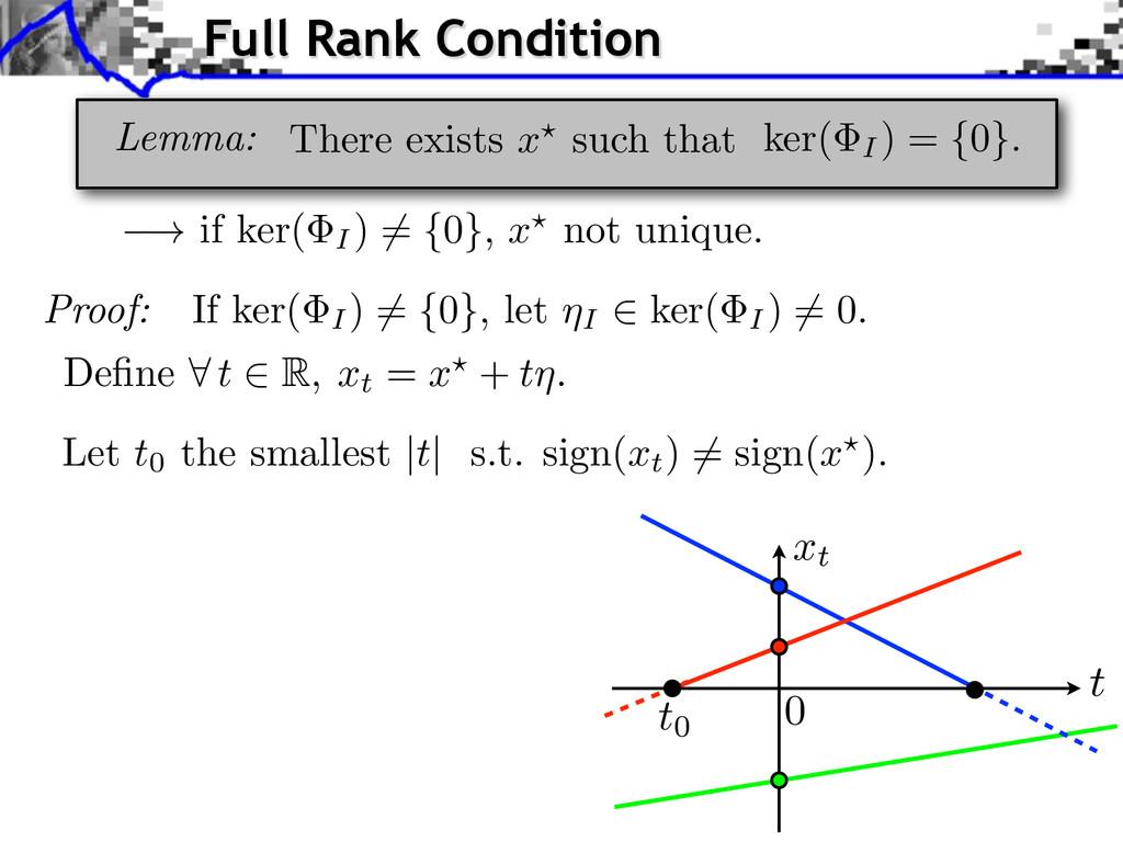 ! if ker( I) 6 = { 0 } , x ? not unique. Proof:...