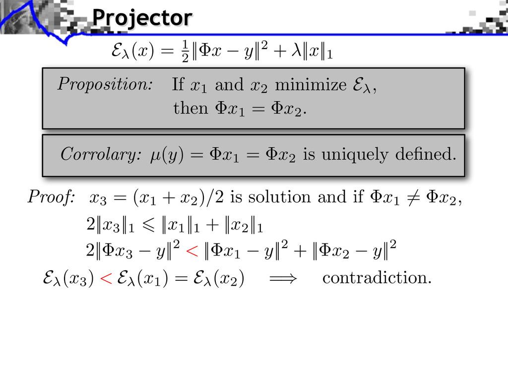 Corrolary: µ ( y ) = x1 = x2 is uniquely defined...