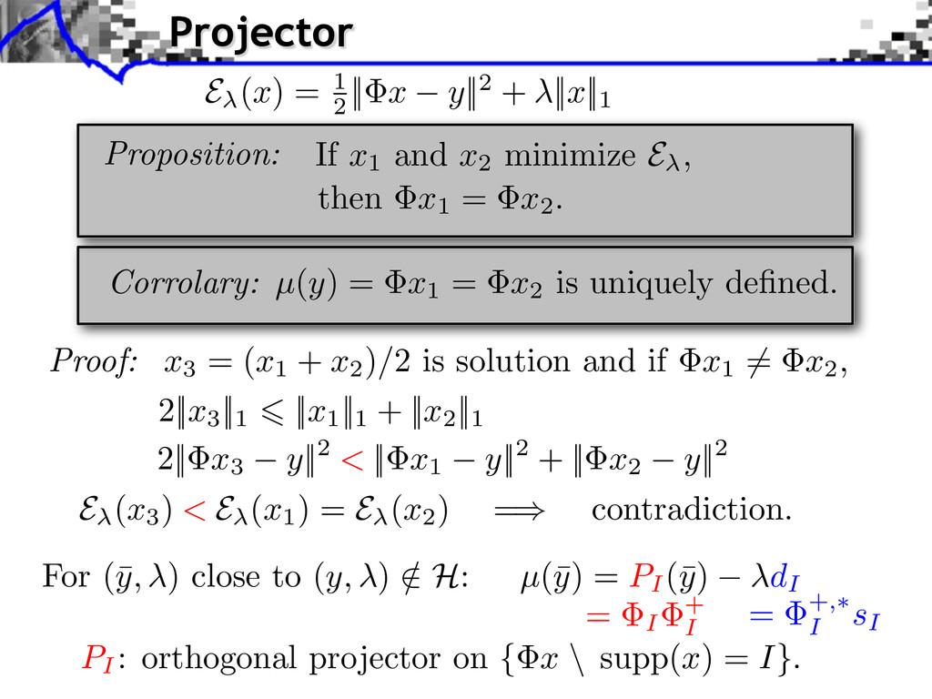 For (¯ y, ) close to ( y, ) / 2 H : µ(¯ y) = PI...