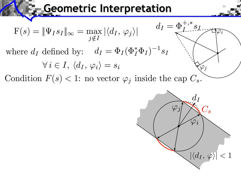 F(s) = || IsI || = max j /I | dI, j ⇥| where dI...