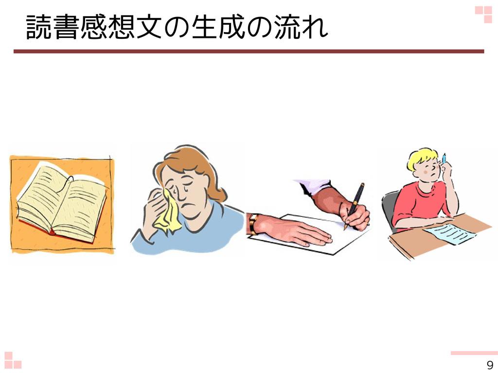読書感想文の生成の流れ 9