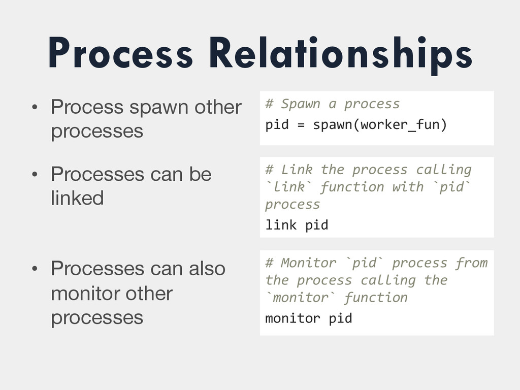 Process Relationships • Process spawn other pr...