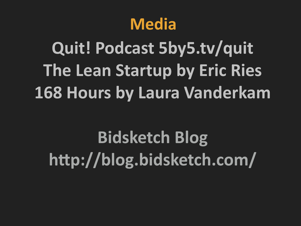 Media Quit! Podcast 5by5.tv/quit  The...