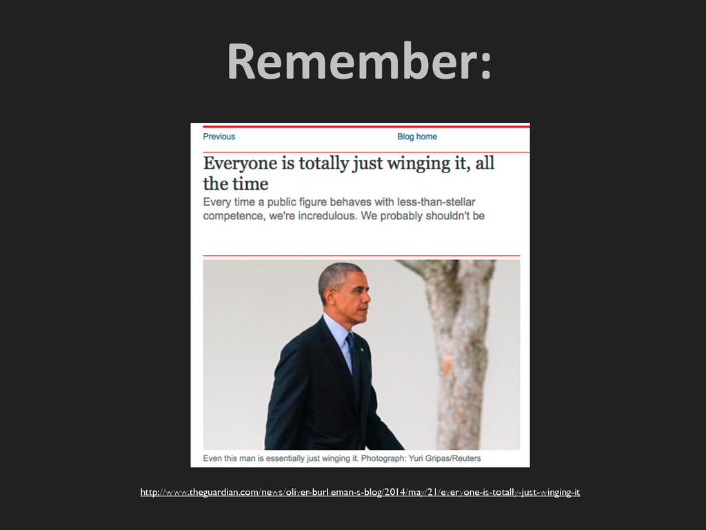 ! ! Remember:  http://www.theguardian.com/ne...