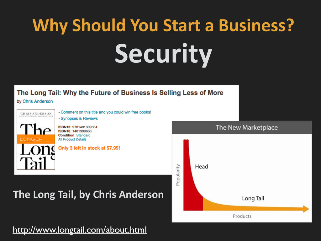 Why Should You Start a Business?...