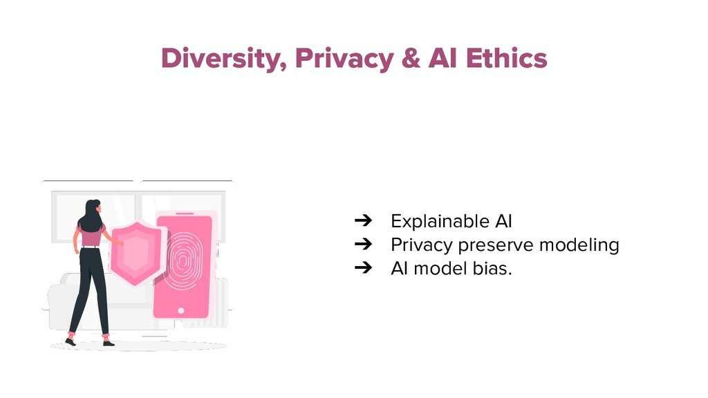 Diversity, Privacy & AI Ethics ➔ Explainable AI...