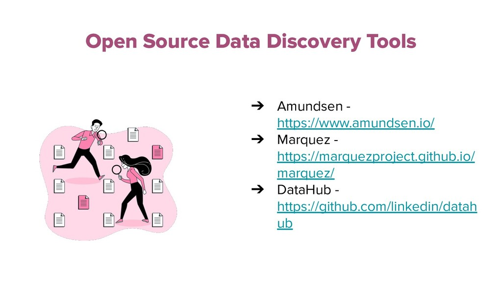 Open Source Data Discovery Tools ➔ Amundsen - h...