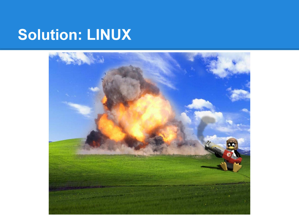 Solution: LINUX