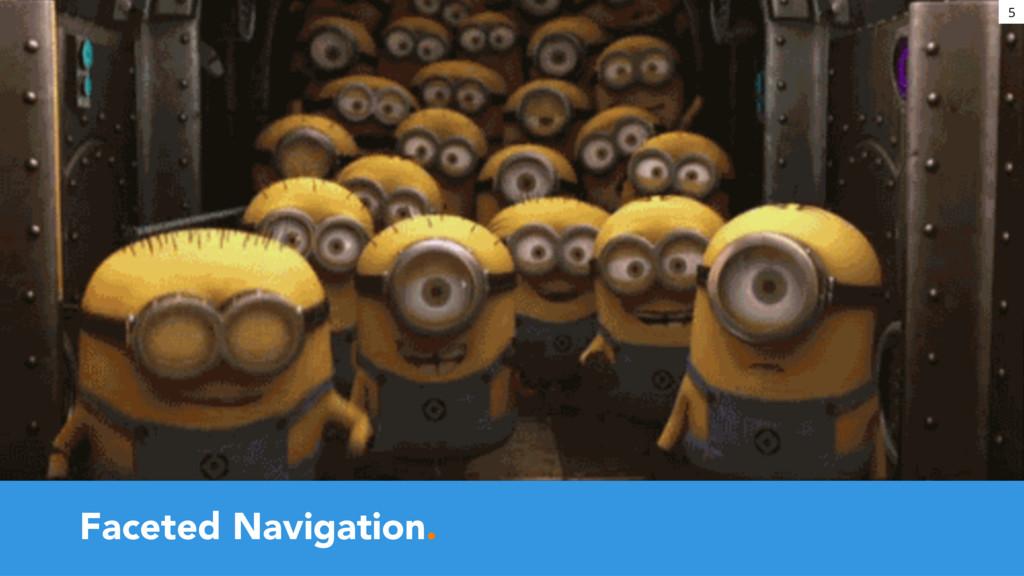 Faceted Navigation. 5