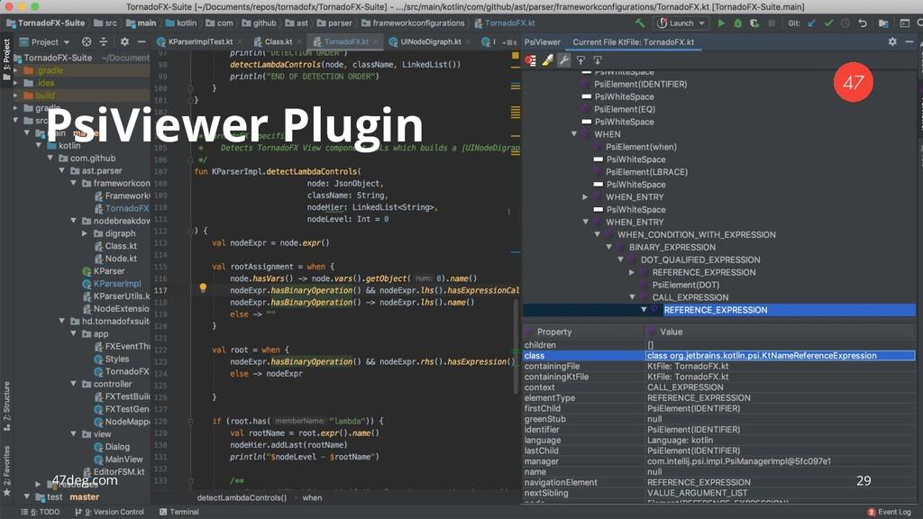 47deg.com 29 PsiViewer Plugin