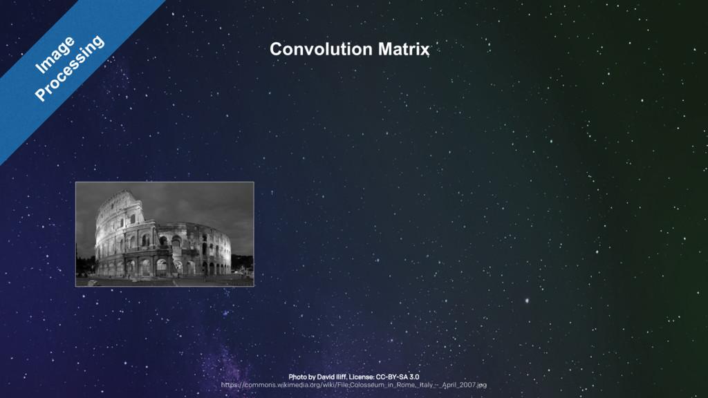 Convolution Matrix Photo by David Iliff. Licens...