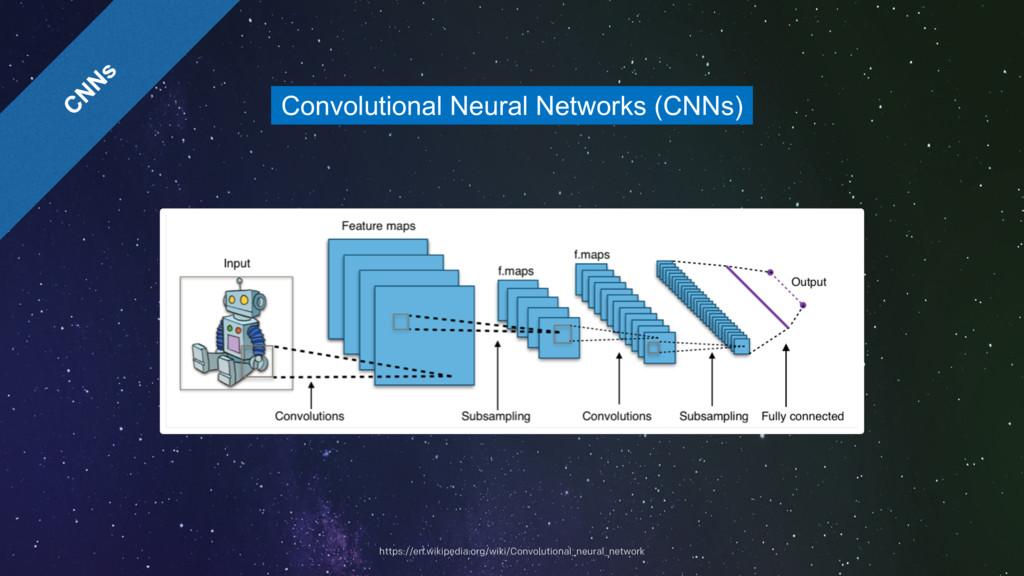 Convolutional Neural Networks (CNNs) https://en...