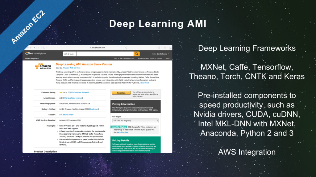 Deep Learning Frameworks MXNet, Caffe, Tensorfl...