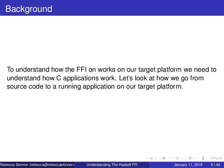 Background To understand how the FFI on works o...