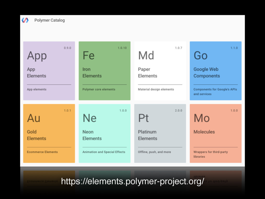 https://elements.polymer-project.org/