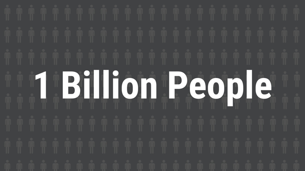 1 Billion People