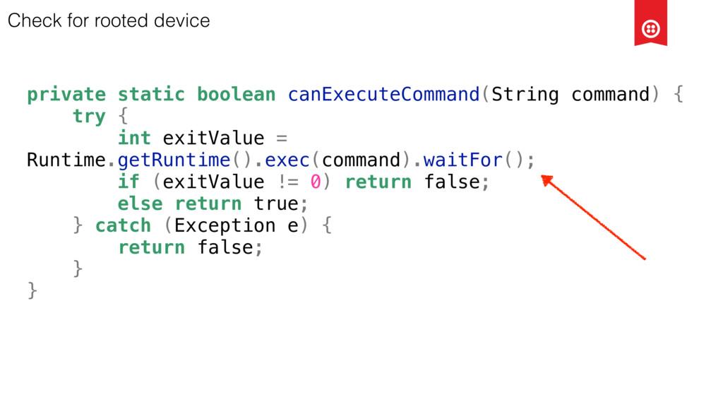 private static boolean canExecuteCommand(String...