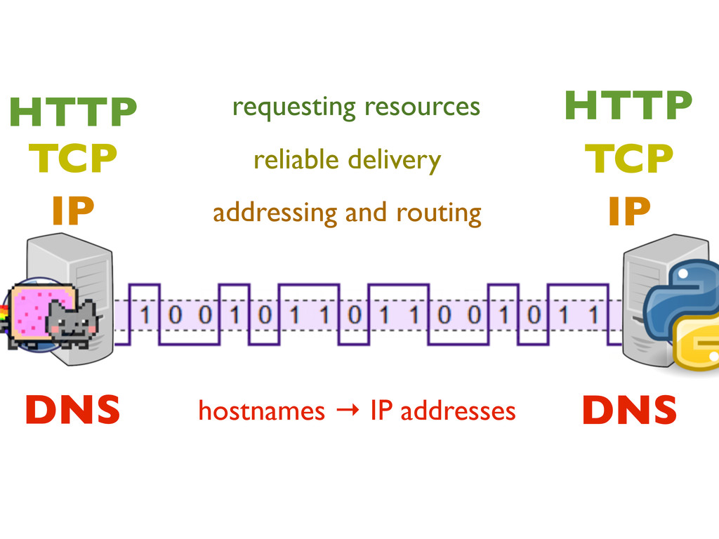 IP IP TCP TCP HTTP HTTP addressing and routing ...