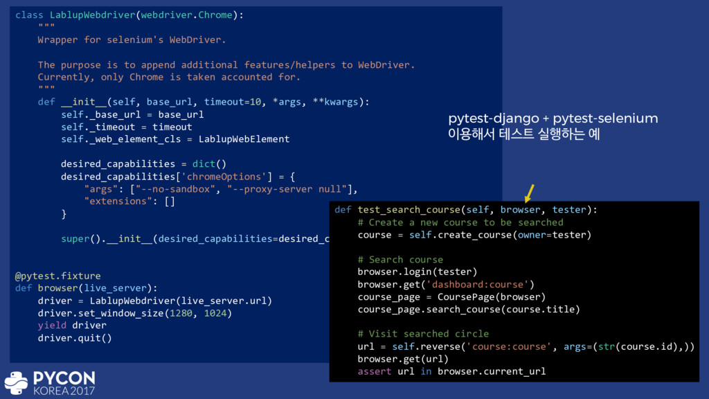 "class LablupWebdriver(webdriver.Chrome): """""" Wr..."