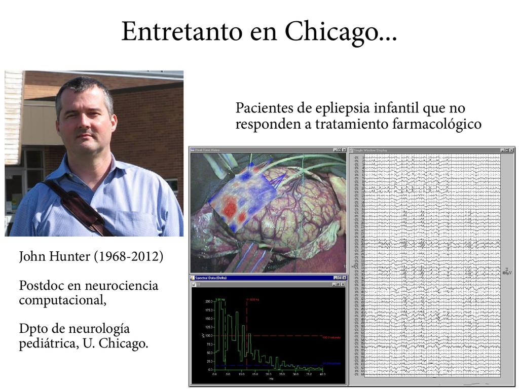 Entretanto en Chicago... John Hunter (1968-2012...
