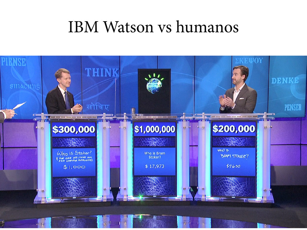 IBM Watson vs humanos